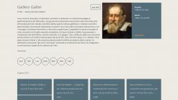 La pagina di Galileo