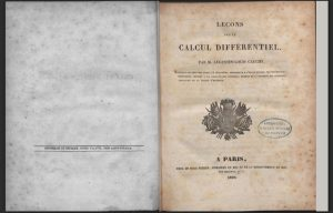 Calcul Differentiel di Cauchy