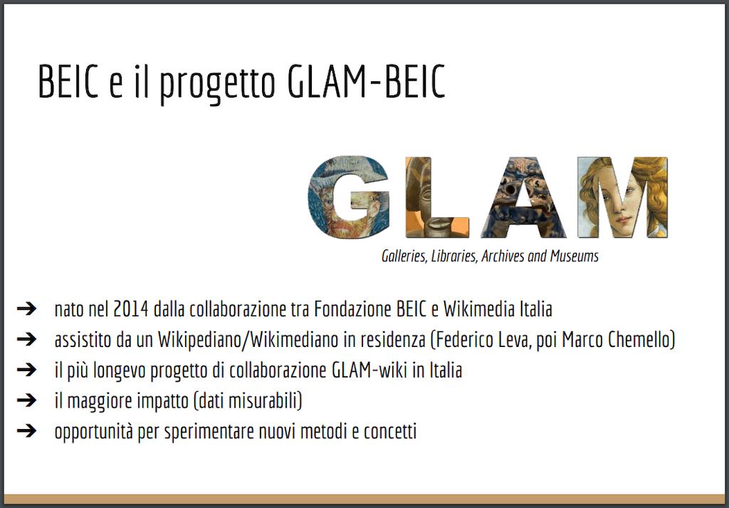 GLAM/BEIC