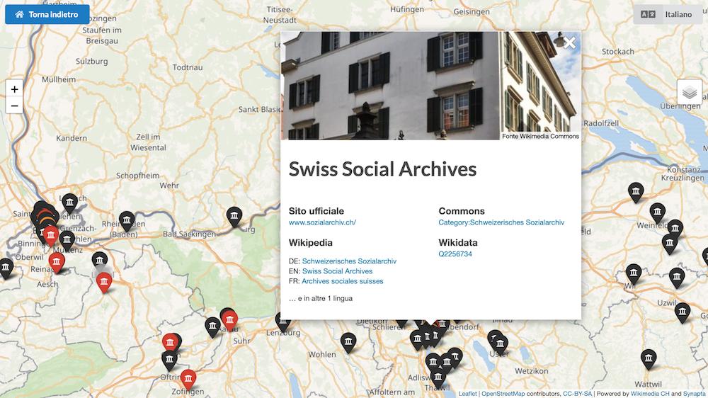 dettagli mappa archivi